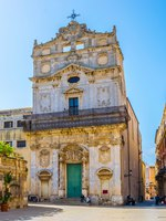 Италия. Сицилия. Сиракузы. Santa Lucia alla Badia church in Syracuse, Sicily, Italy. Фото Dudlajzov - Depositphotos