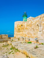 Италия. Сицилия. Сиракузы. View of the castello maniace in Syracuse, Sicily, Ital. Фото Dudlajzov - Depositphotos