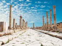 Клуб путешествий Павла Аксенова. Иордания. Джераш. Ancient Jerash. Ruins of the Greco-Roman city- Depositphotos