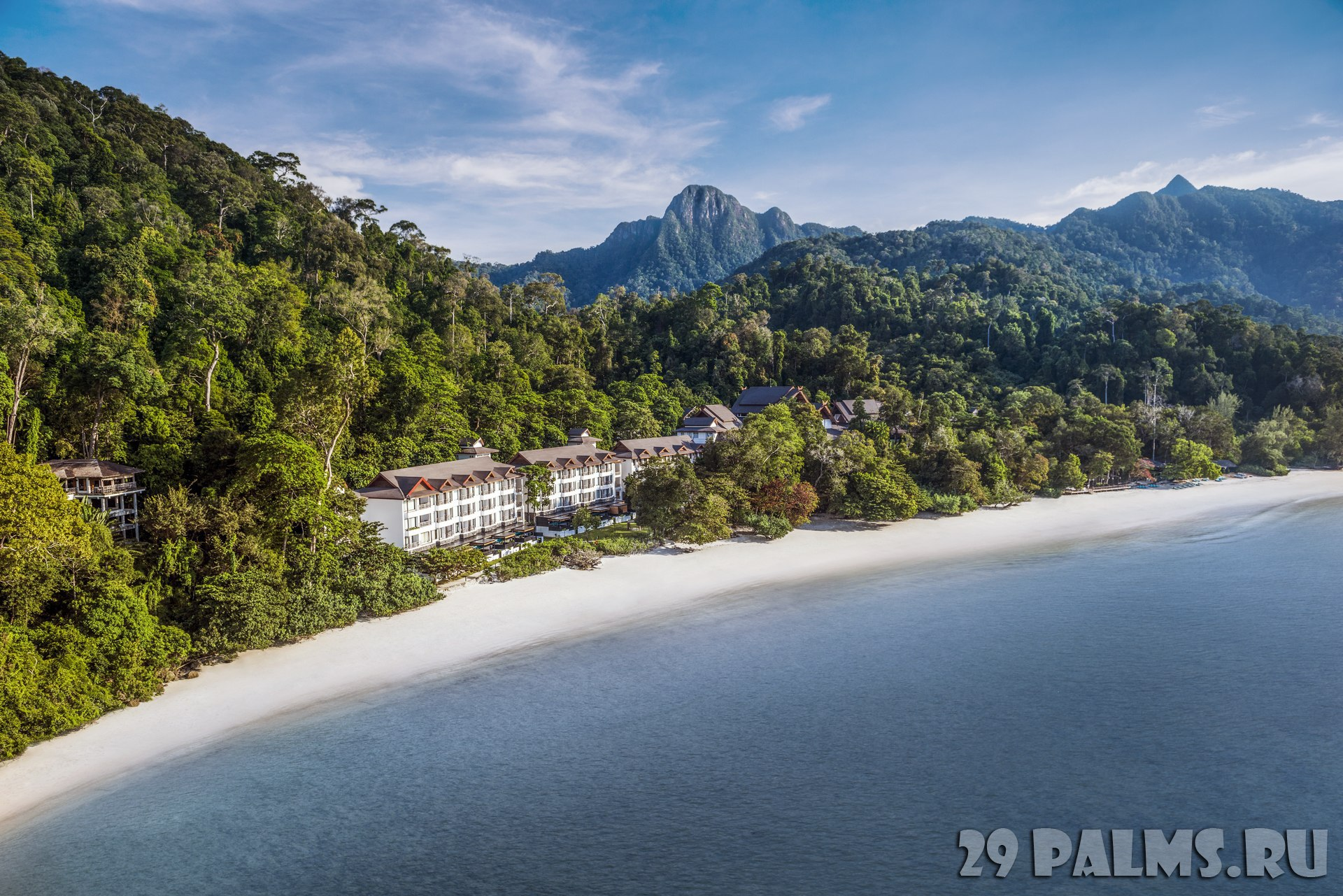 Клуб путешествий Павла Аксенова. Малайзия. О.Лангкави. The Andaman, a Luxury Collection Resort. Aerial