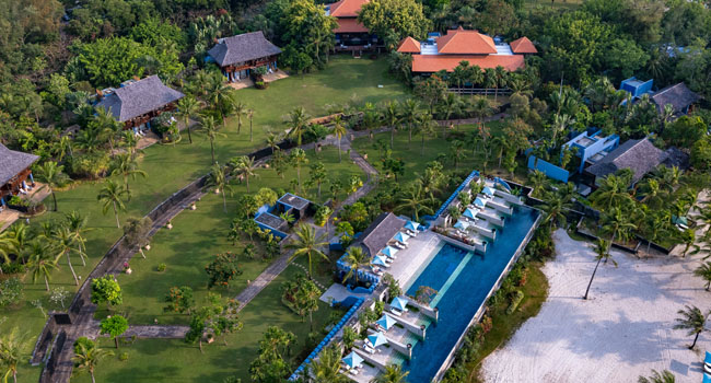 Клуб путешествий Павла Аксенова. Малайзия. Лангкави. Four Seasons Resort Langkawi. Aerial View