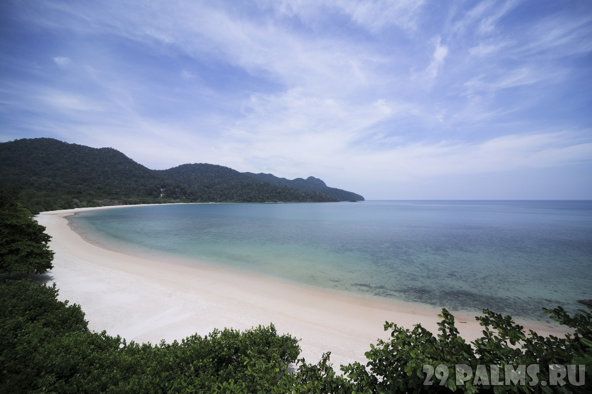 Клуб путешествий Павла Аксенова. Малайзия. О.Лангкави. The Datai Langkawi. Datai Bay
