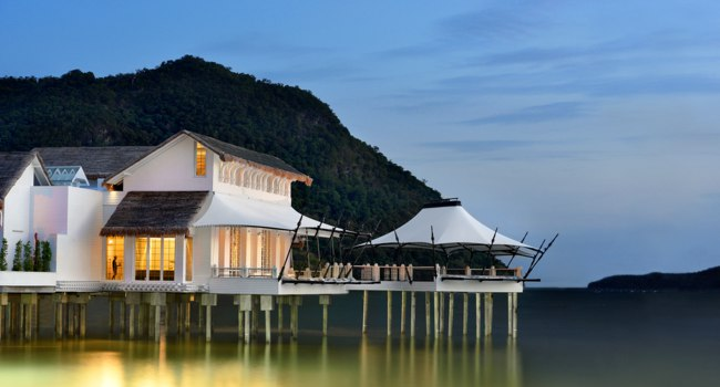 Клуб путешествий Павла Аксенова. Малайзия. О. Лангкави. The St. Regis Langkawi. Kayuputi Over Water Specialty Restaurant