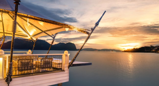 Клуб путешествий Павла Аксенова. Малайзия. О. Лангкави. The St. Regis Langkawi. Kayu puti - Sunset Deck