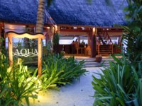 Мальдивы. Anantara Dhigu Resort & Spa, Maldives. Aqua Bar exterior