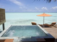 Мальдивы. Anantara Dhigu Resort & Spa, Maldives. Tarrazzo Bath at Anantara Spa