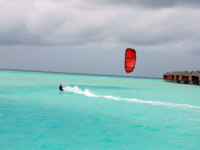 Мальдивы. Anantara Dhigu Resort & Spa, Maldives. Kite surfing
