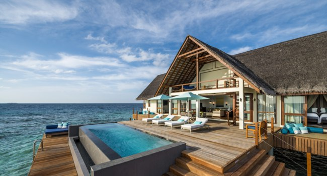 Мальдивы. Four Seasons Resort Maldives at Landaa Giraavaru. Two-bedroom Water Suite