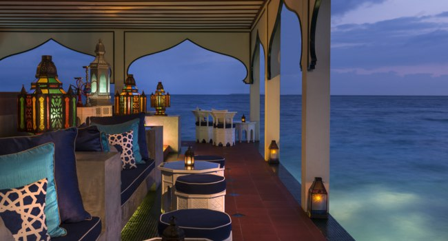 Four Seasons Resort Maldives at Landaa Giraavaru. Shisha Bar