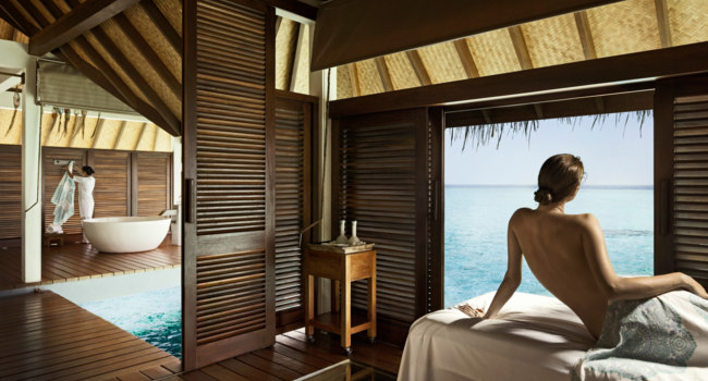 Мальдивы. Four Seasons Resort Maldives at Landaa Giraavaru. Spa and Ayurvedic Retreat