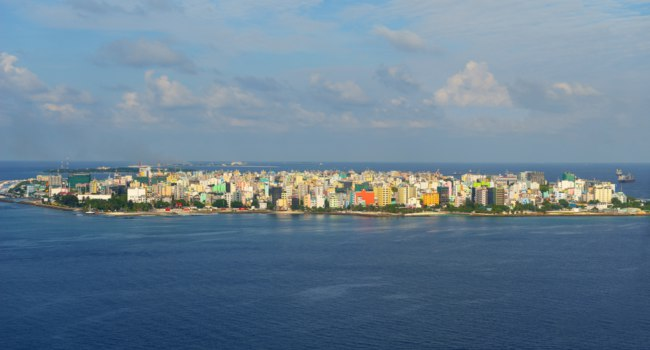 The Capital of Maldives, Male. Фото benis arapovic - Depositphotos