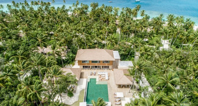 Клуб путешествий Павла Аксенова. Мальдивы. InterContinental Maldives Maamunagau Resort. Royal Beachfront Residence 3-bedroom