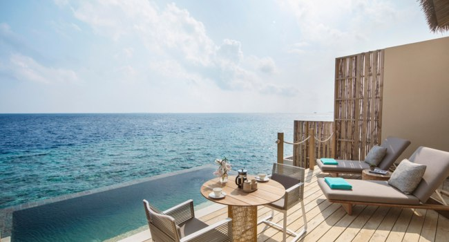 Клуб путешествий Павла Аксенова. Мальдивы. InterContinental Maldives Maamunagau Resort. Sunrise Lagoon Pool Villa 1-bedroom