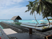Мальдивы. One&Only Reethi Rah. Pool beach. Фото Павла  Аксенова
