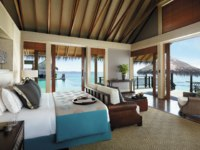 Мальдивы. Shangri-La's Villingili Resort & Spa, Maldives. Villa Muthee bedroom