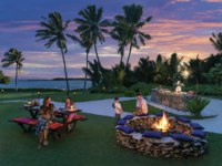 Мальдивы. Shangri-La Villingili Resort & Spa. Dine by Design at the BBQ Pit with family