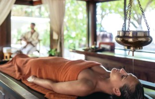 Мальдивы. Shangri-La Villingili Resort & Spa. Ayurveda Treatment at CHI, the Spa
