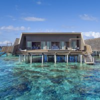Мальдивы. The St. Regis Maldives Vommuli Resort. St. Regis Suite Exterior