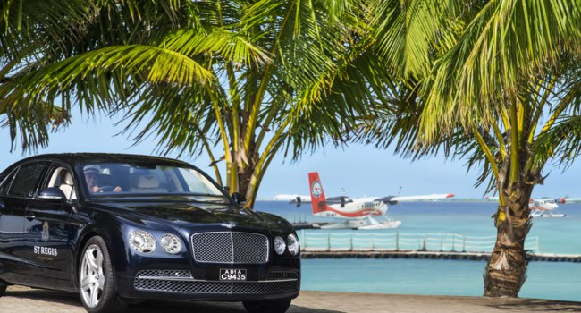 Мальдивы. The St. Regis Maldives Vommuli Resort. Airport Transfer by Bentley