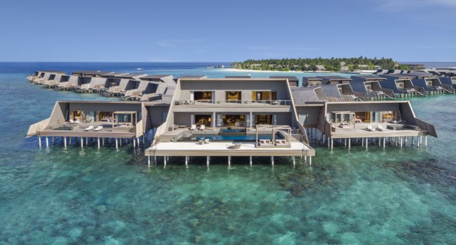 Мальдивы. The St. Regis Maldives Vommuli Resort. John Jacob Astor Estate - Exterior