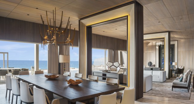Мальдивы. The St. Regis Maldives Vommuli Resort. John Jacob Astor Estate - Dining Room