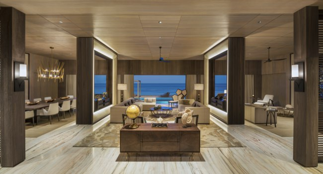 Мальдивы. The St. Regis Maldives Vommuli Resort. John Jacob Astor Estate - Living Room