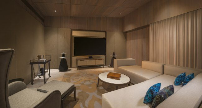 Мальдивы. The St. Regis Maldives Vommuli Resort. John Jacob Astor Estate - Cinema Room