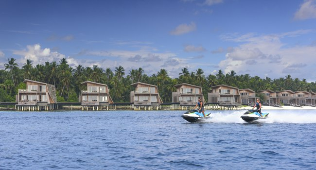 Мальдивы. The St. Regis Maldives Vommuli Resort. Watersport - Jet Ski