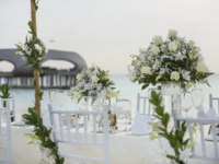 Мальдивы. The St. Regis Maldives Vommuli Resort. Wedding Table