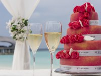 Мальдивы. The St. Regis Maldives Vommuli Resort. Wedding cake