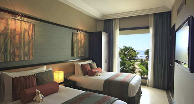 Маврикий. InterContinental Mauritius Resort Balaclava Fort. Family Room Second Bedroom