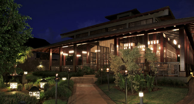 Маврикий. InterContinental Mauritius Resort Balaclava Fort. Noble House Asian Fusion Restaurant