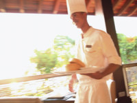 Маврикий. InterContinental Mauritius Resort Balaclava Fort.  Resort Restaurants