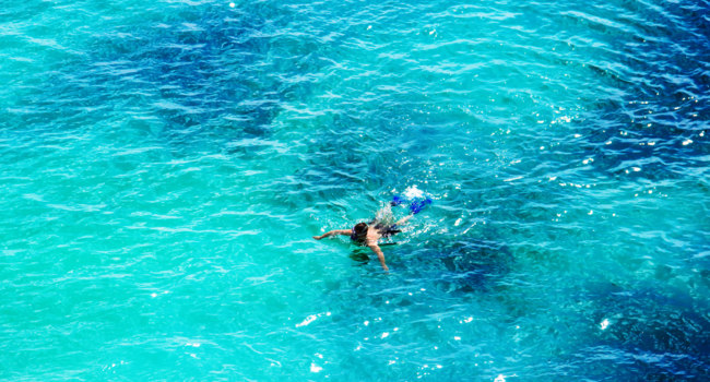 Маврикий. InterContinental Mauritius Resort Balaclava Fort. Indian Ocean Swimming