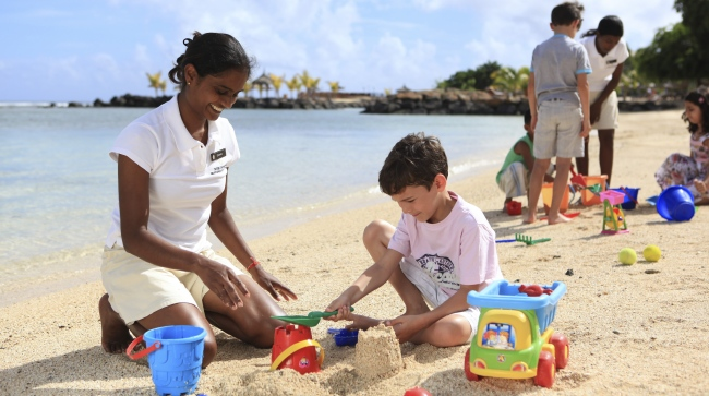 Маврикий. InterContinental Mauritius Resort Balaclava Fort. Planet Trekkers Kids Club