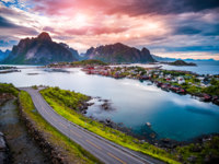Блог Павла Аксенова. Норвегия. Lofoten Islands, Norway. Фото cookelma - Depositphotos