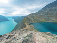 Блог Павла Аксенова. Норвегия. Besseggen Ridge in Jotunheimen National Park. Фото Nanisimova_sell - Depositphotos