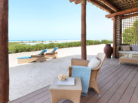 ОАЭ. Абу-Даби. О. Сир Бани Яс. Anantara Sir Bani Yas Island Al Sahel Villas Resort. One Bedroom Villa Terrace