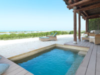 ОАЭ. Абу-Даби. О. Сир Бани Яс. Anantara Sir Bani Yas Island Al Sahel Villas Resort. One Bedroom Pool Villa Terrace