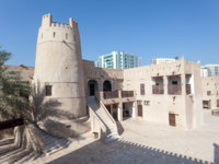 Клуб путешествий Павла Аксенова. ОАЭ. Эмират Аджман (Ajman). Ancient fort at the museum of Ajman. UAE. Фото philipus - Depositphotos