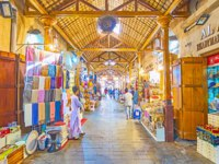 The Grand Souq in Deira is a perfect place to choose some souvenirs and gifts, explore local handicrafts and exotic goods in Dubai. Фото efesenko - Depositphotos