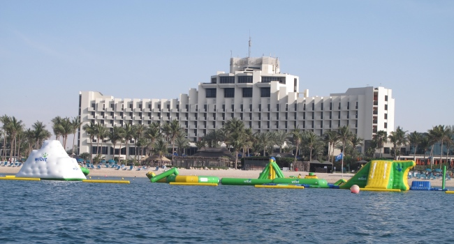 Клуб путешествий Павла Аксенова. ОАЭ. Эмират Дубай. JA Jebel Ali Beach Hotel JA Wibit Water Park