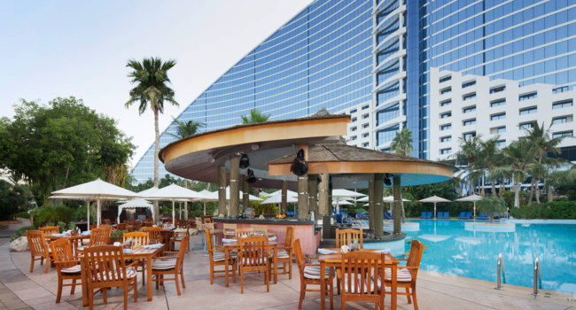 Блог Павла Аксенова. ОАЭ. Дубай. Jumeirah Beach Hotel. Pool Bar