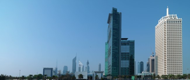 Клуб путешествий Павла Аксенова. Jumeirah Living World Trade Centre Residence - Exterior Distance View