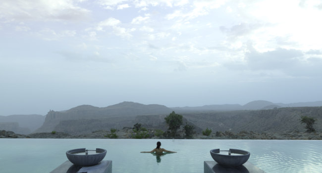 Клуб путешествий Павла Аксенова. Оман. Провинция Эд Дахилия. Anantara Al Jabal Al Akhdar Resort. Pool
