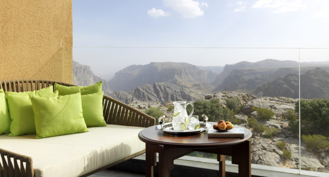 Клуб путешествий Павла Аксенова. Оман. Провинция Эд Дахилия. Anantara Al Jabal Al Akhdar Resort. Deluxe Canyon View Balcony