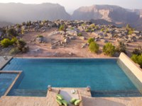 Клуб путешествий Павла Аксенова. Оман. Провинция Эд Дахилия. Anantara Al Jabal Al Akhdar Resort. Royal Mountain Villa Pool