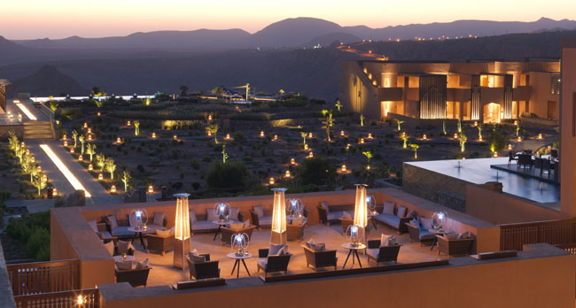 Клуб путешествий Павла Аксенова. Оман. Провинция Эд Дахилия. Anantara Al Jabal Al Akhdar Resort. Dining Al Shourfa