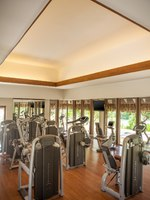 Клуб путешествий Павла Аксенова. О.Бора-Бора. The St. Regis Bora Bora Resort.Miri Miri Spa. Fitness Center overlooking Lagoonarium