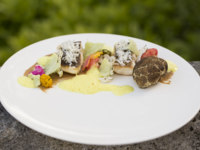 Клуб путешествий Павла Аксенова. Португалия.  Six Senses Douro Valley. Seared_Pompano_cauliflower_textures